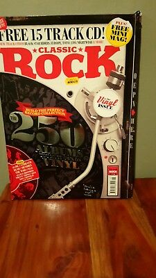 classic rock magazine 250 vinyl albums you must own. brand new sealed