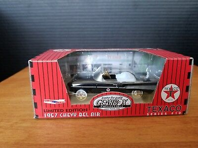 Gearbox Limited Edition Black 1957 Chevy Belair Pedal Car Texaco.Brand new.