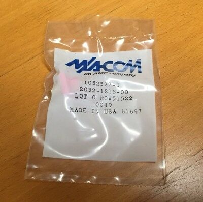 TE/Tyco/AMP 1052527-1 RF / Coaxial Connector, SMA Coaxial, Straight Jack, Solder