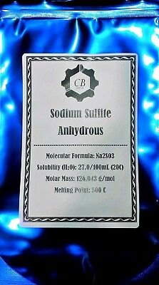 2 Pounds Pure Sodium Sulfite, Na2SO3, Sodium Sulphite, CAS# 7757-83-7