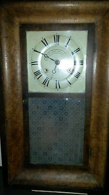 1870s american kipper box type clock