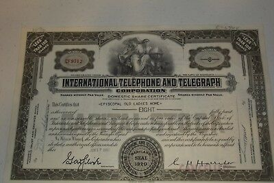 Lot of 10 Different Stock Certificates  Beautiful Engraved Vintage 1947 - 1994