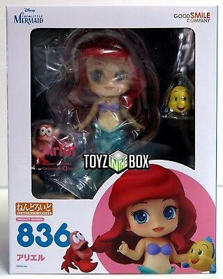 """In STOCK Good Smile Co The Little Mermaid """"Ariel"""" 836 Nendoroid Action Figure"""