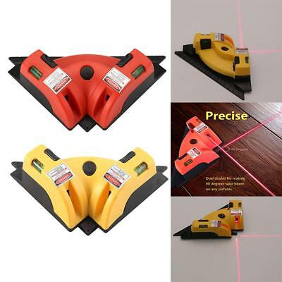 Right Angle 90 Degree Vertical Horizontal Laser Line Projection Square 2 Type HG