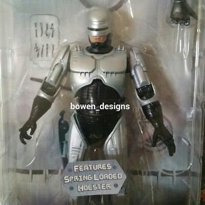 "25th Anniversary NECA RoboCop 80s Spring Loaded Holster 7""Action Figure Reel Toy"