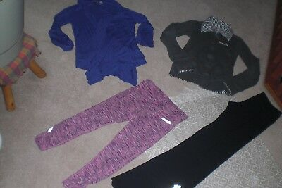 """""""SALE"""" Lot of Womans Bench Jacket,  Wrap, Crops and Gym Pants sz XS"""