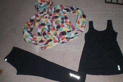 """""""SALE"""" Lot of Rare Womans Bench Jackets, Leggings and Tankr sz M"""