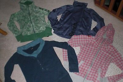 """""""SALE"""" Lot of 3 Womans Bench Jackets and 1 Sweater sz M"""