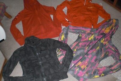 """""""SALE"""" Lot of 2 Womans Bench Jackets and 2 Jackets with Hood sz L"""
