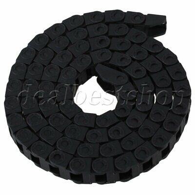 Bridge Type Cable Drag Chain Wire Carrier 8x8 mm R18 1M for CNC Machine