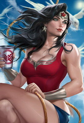 """058 Wonder Woman - Sexy Girl Justice League USA Hero 14""""x20"""" Poster"""