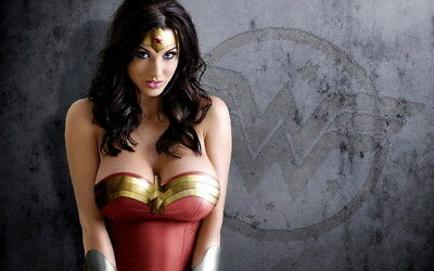 """076 Wonder Woman - Sexy Girl Justice League USA Hero 38""""x24"""" Poster"""