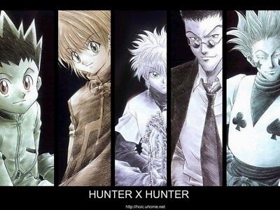 "089 Hunter X Hunter - Neferpitou Gon Killua Fight Anime 32""x24"" Poster"