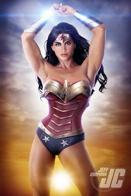 """091 Wonder Woman - Sexy Girl Justice League USA Hero 24""""x36"""" Poster"""