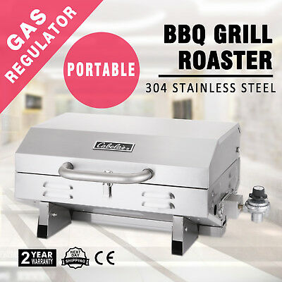 Portable Stainless Steel BBQ Barbeque Oven Hot Plate Grill Cooking Boat Oven