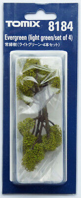 Tomix 8184 Evergreen Tree Light Green (N scale)