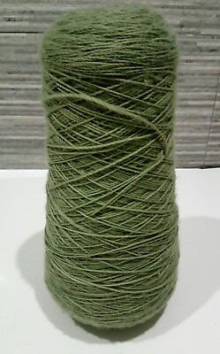 Cone of Green Yarn 1.20kg 33cm Tall