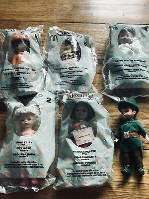 Vintage Madame Alexander Dolls Lot 6 And Free Shipping