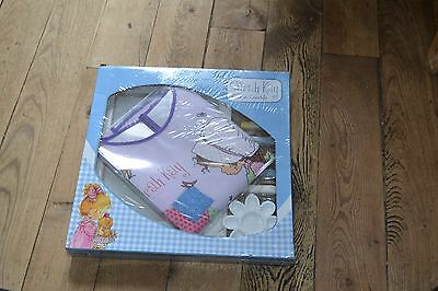 sarah kay neuf kit toile a peindre complet avec tablier rare coll perso