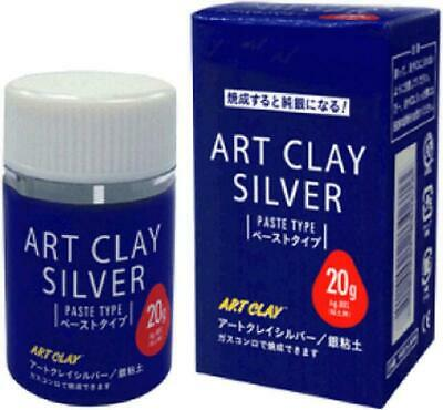Art Clay Silver 20g Precious Metal Clay Silver PMC Low Fire Series Paste type