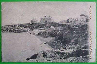 LAWRENCE Postcard POSTED 1905 BATHING PLACE GREYSTONES Co.WICKLOW IRELAND