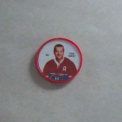 Shirriff / Salada coins Hockey 1960-61 # 26 Doug Harvey Montreal Canadians #A