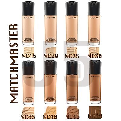 MAC Matchmaster SPF 15 Foundation 35ML Full Size. ALL NC Shades. Brand New Boxed