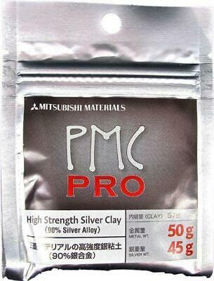 Mitsubishi PMC Pro Precious Metal Clay Silver 50g Art Clay 45g Silver Weight