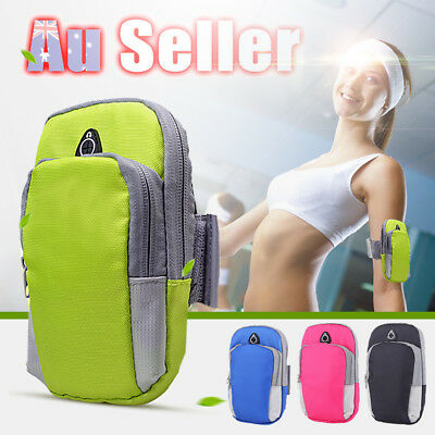 Outdoor Sports Portable Wrist Bag Pouch Mobile Cell Phone Arm Band Holder Wallet