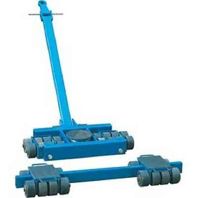 NEW! Steerable Machinery Moving Skate Roller Kits 80 Ton Capacity!!