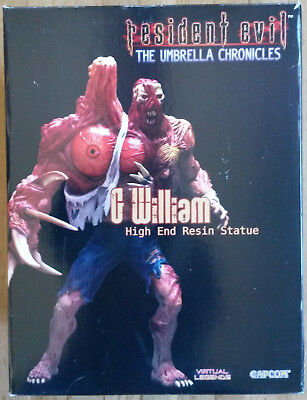 Resident Evil Umbrella Chronicles G William Birkin statue~Capcom~Biohazard~DMG