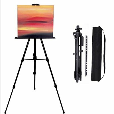 artist painting easel stand tripod display folding drawing white
