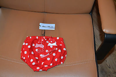 culotte ou maillot neuf tartine et chocolat  6 mois rouge noeud poids