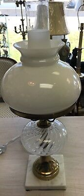 Attractive Look Alike Converted Oil Lamp