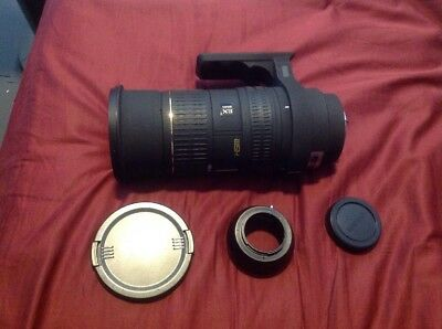 Sigma EX HSM 50-500mm f4-6.3 Lens With Sigma to m4/3 adapter