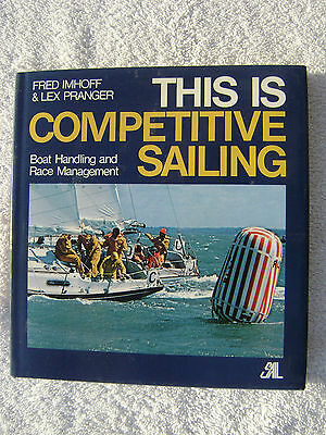 This Is Competitive Sailing Book Maritime Nautical Marine (#034)