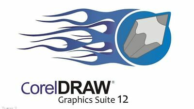 Corel Draw Graphics Suite 12 Multi Language -Instant Download Delivery+key