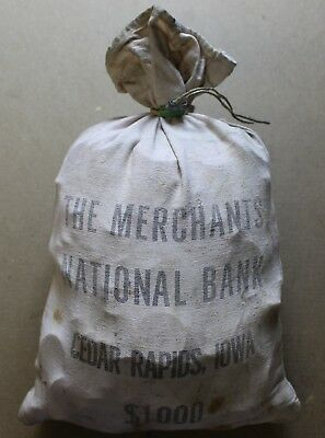 1,000 Morgan Peace Silver 1000 Dollars Sealed Bag 90% Dollar 50 Roll Old Coins