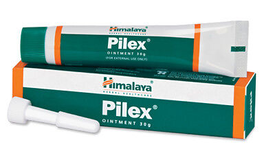2 pcs. Himalaya Herbals Pilex Ointment 30gm Piles Anal Fissures Eczema Itching