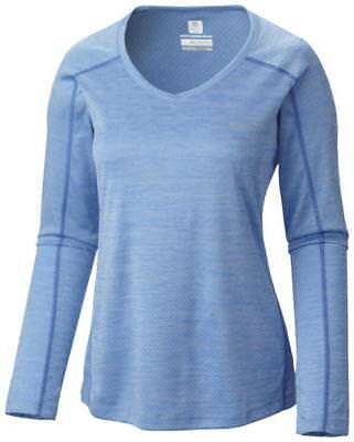 Columbia Women's Zero Rules Long Sleeve Shirt - XS, BLU