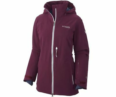 Columbia Titanium Women's Below Backcountry Jacket - S, purple