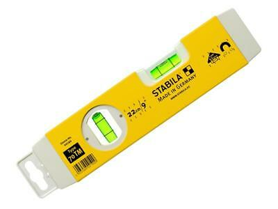 "Stabila Tool Spirit Level 22cm 9"" Torpedo Magnetic Base Type 70 TM 2190"
