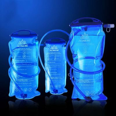 1/1.5/2/3L Water Bladder Bag Backpack Hydration System for Camping Hiking Climb