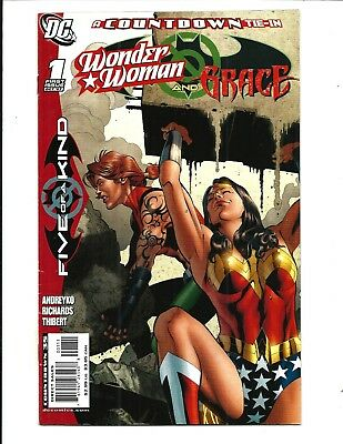 WONDER WOMAN and GRACE # 1 (DC Comics COUNTDOWN TIE-IN, Oct 2007), FN/VF