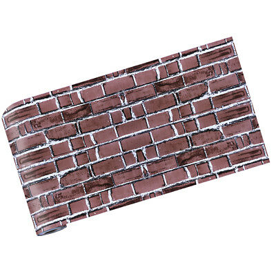 Wall Paper Brick Stone Effect Self-adhesive Wall Sticker Decal Home Decor 5#