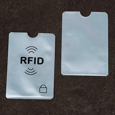 1Pcs Credit Card Protector Sleeve Wallet Card RFID Blocking Contactless Debit A+