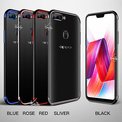 Plating Gel Stylish TPU Case Cover for Oppo AX5 AX7 A73 R15 R17 Pro R11S Plus