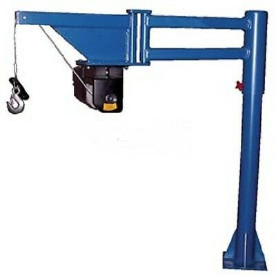 NEW! DC Powered Lift Low Profile Van & Truck Jib Crane 400 Lb. Capacity!!