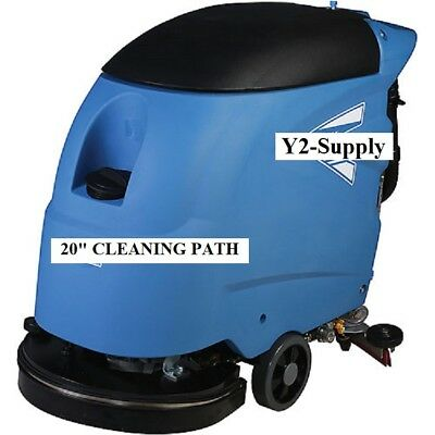"NEW! Electric Auto Floor Scrubber 20"" Cleaning Path - Corded!!"