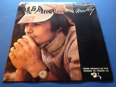 FRANCIS LAI MADLY France Original 1969 OST Library Funk LP STUNNING UNPLAYED